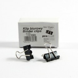SPINACZ BINDER CLIP 19mm a'12