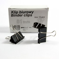 SPINACZ BINDER CLIP 51mm a'12
