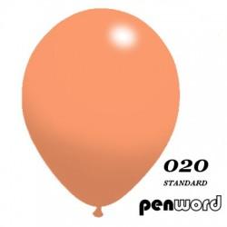 """BALONY 12"""" STANDARD KOLOR NR 020 - a'100"""