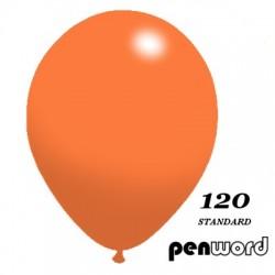"""BALONY 12"""" STANDARD KOLOR NR 120 - a'100"""