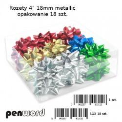 "ROZETY 4"" 18mm METALLIC a'18"