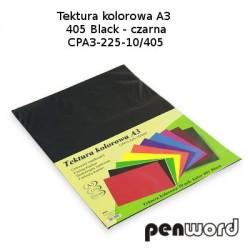 BRYSTOL/TEKTURA KOL. A3 405 BLACK/CZARNAa'10 CPA3-225-10