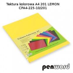 BRYSTOL/TEKTURA KOL. A4 201 LEMON/ŻÓŁTA CPA4-225-10