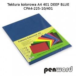 BRYSTOL/TEKTURA KOL. A4 401 DEEP BLUE/GRANATOWACPA4-225-10