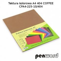 BRYSTOL/TEKTURA KOL. A4 404 COFFEE/BRĄZOWACPA4-225-10