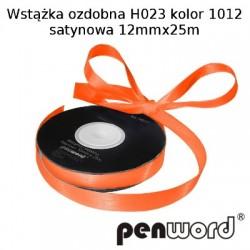 WSTĄŻKA OZDOBNA H023 KOL. 1012 SATYNOWA 12mmx25m