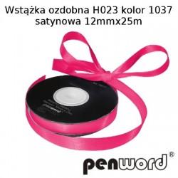 WSTĄŻKA OZDOBNA H023 KOL. 1037 SATYNOWA 12mmx25m