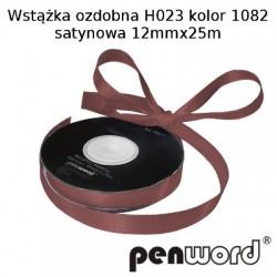 WSTĄŻKA OZDOBNA H023 KOL. 1082 SATYNOWA 12mmx25m
