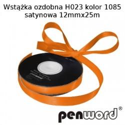 WSTĄŻKA OZDOBNA H023 KOL. 1085 SATYNOWA 12mmx25m