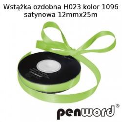 WSTĄŻKA OZDOBNA H023 KOL. 1096 SATYNOWA 12mmx25m