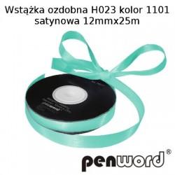 WSTĄŻKA OZDOBNA H023 KOL. 1101 SATYNOWA 12mmx25m