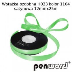 WSTĄŻKA OZDOBNA H023 KOL. 1104 SATYNOWA 12mmx25m