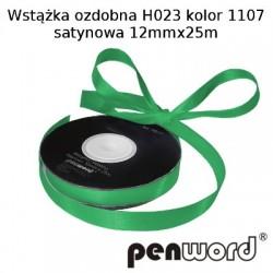 WSTĄŻKA OZDOBNA H023 KOL. 1107 SATYNOWA 12mmx25m