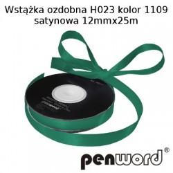 WSTĄŻKA OZDOBNA H023 KOL. 1109 SATYNOWA 12mmx25m