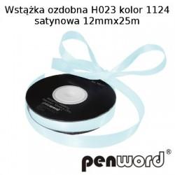 WSTĄŻKA OZDOBNA H023 KOL. 1124 SATYNOWA 12mmx25m