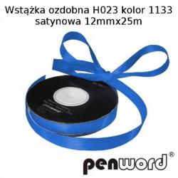 WSTĄŻKA OZDOBNA H023 KOL. 1133 SATYNOWA 12mmx25m