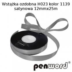 WSTĄŻKA OZDOBNA H023 KOL. 1139 SATYNOWA 12mmx25m