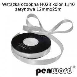 WSTĄŻKA OZDOBNA H023 KOL. 1140 SATYNOWA 12mmx25m