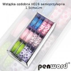 WSTĄŻKA OZDOBNA H028 SAMOPRZYLEPNA 1,5cm/1m
