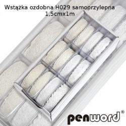 WSTĄŻKA OZDOBNA H029 SAMOPRZYLEPNA 1,5cm/1m