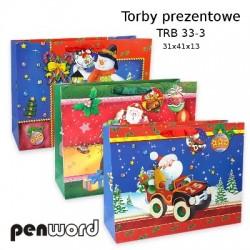 TORBY PREZENTOWE TRB 33-3 31x41x13 BN