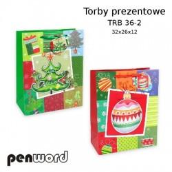 TORBY PREZENTOWE TRB 36-2 32x26x12 BN