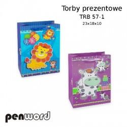 TORBY PREZENTOWE TRB 57-1 23x18x10