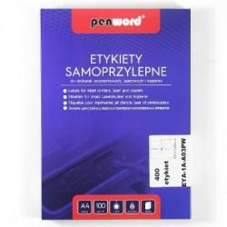 ETYKIETY SAMOPRZYLEPNE A4 4 x 105 x 148 100 ARKUSZY