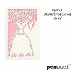 KARTKA OKOLICZNOŚCIOWA O-72 ŚL