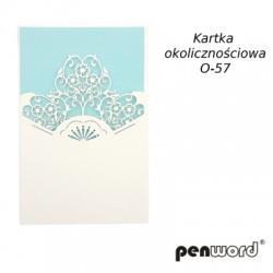 KARTKA OKOLICZNOŚCIOWA O-57 ŚL