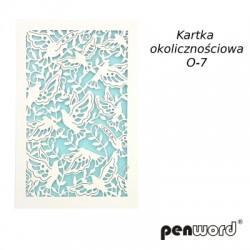 KARTKA OKOLICZNOŚCIOWA O-7