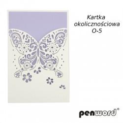KARTKA OKOLICZNOŚCIOWA O-5