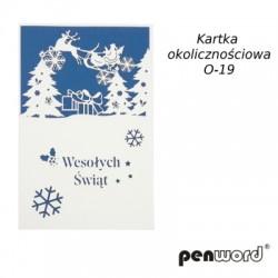 KARTKA OKOLICZNOŚCIOWA O-19 BN