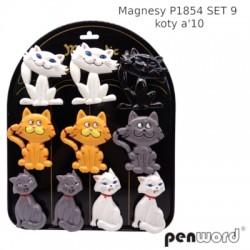 MAGNESY P1854 SET 9 KOTY A'10
