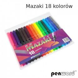 MAZAKI 18 KOLORÓW