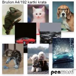 BRULION A4/192 KRATA
