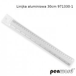 LINIJKA ALUMINIOWA 30cm 971330-1