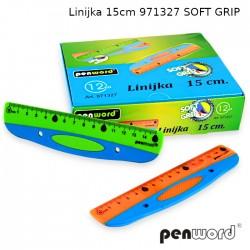 LINIJKA 15cm 971327 SOFT GRIP