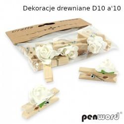 DEKORACJE DREWNIANE D10 a'10