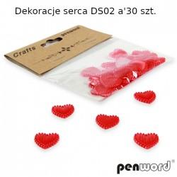 DEKORACJE SERCA DS02 a'30