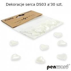 DEKORACJE SERCA DS03 a'30