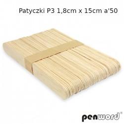 PATYCZKI P3 1,8cm x 15cm a'50