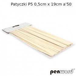 PATYCZKI P5 0,5cm x 19cm a'50