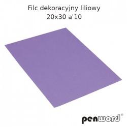 FILC DEKORACYJNY LILIOWY 20X30 a'10