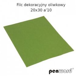 FILC DEKORACYJNY OLIWKOWY 20X30 a'10