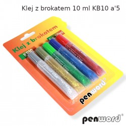 KLEJ Z BROKATEM 10ml KB10 a'5