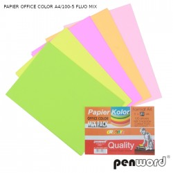 PAPIER OFFICE COLOR A4/100-5 FLUO MIX