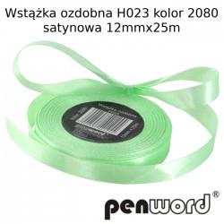 WSTĄŻKA OZDOBNA H023 KOL. 2080 SATYNOWA 12mmx25m