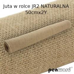 JUTA W ROLCE Jr2 NATURALNA 50cm x 2Y
