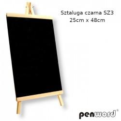 SZTALUGA CZARNA SZ3 25cm x 48cm